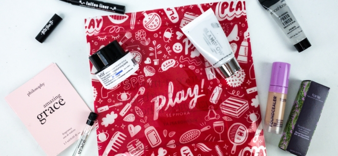 Play! by Sephora January 2020 Subscription Box Review