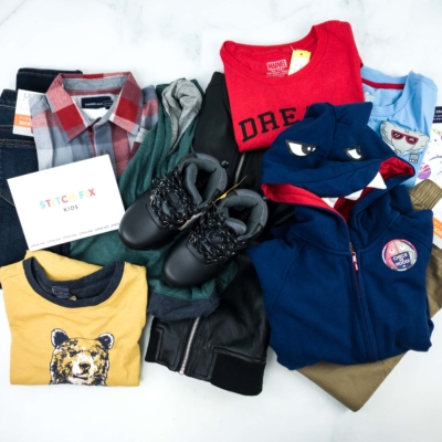 Stitch Fix Kids Review – Little Boys February 2019