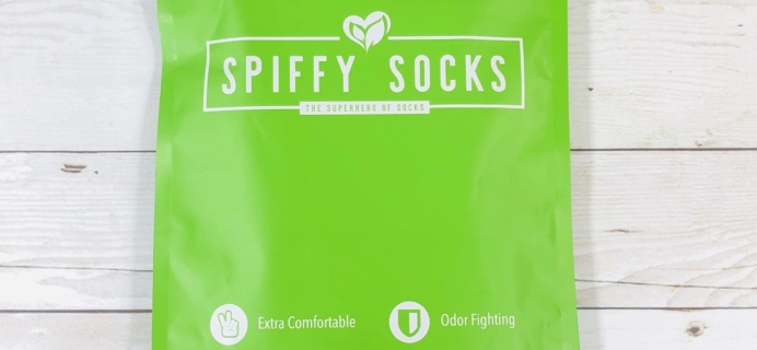 Spiffy Socks January 2020 Subscription Box Review  + Coupon