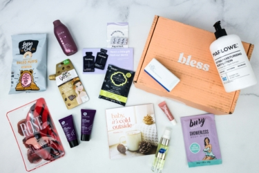 Bless Box December 2019 Subscription Box Review & Coupon