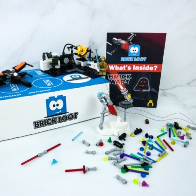 Brick Loot January 2020 Subscription Box Review & Coupon