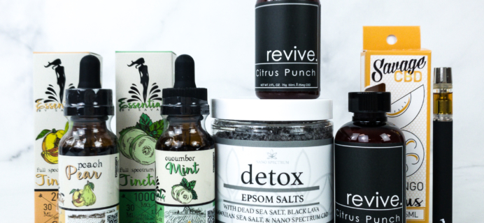 Savage CBD January 2020 Subscription Box Review + Coupon