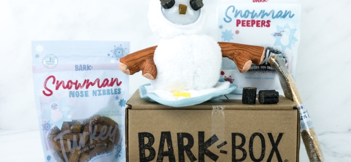 Barkbox January 2020 Subscription Box Review + Coupon