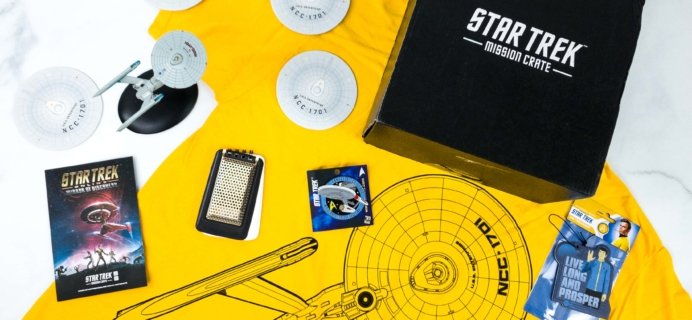 Star Trek: Mission Crate July 2019 Subscription Box Review