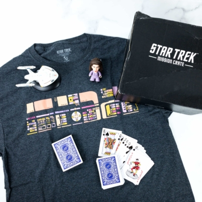 Star Trek: Mission Crate November 2018 Subscription Box Review