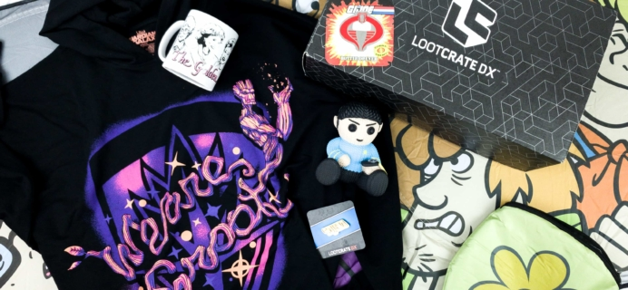 Loot Crate DX November 2019 Subscription Box Review & Coupon