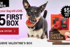 Super Chewer Valentine's Day Coupon: First Month $5 + FREE Shipping For Life!