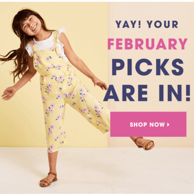 FabKids February 2020 Collection + Coupon!