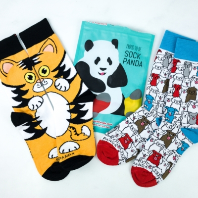 Sock Panda Tweens February 2020 Subscription Review + Coupon