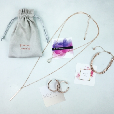 Glamour Jewelry Box January 2020 Subscription Box Review + Coupon