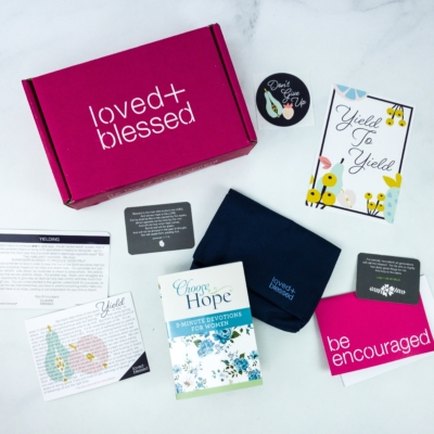 Loved+Blessed February 2020 Subscription Box Review + Coupon