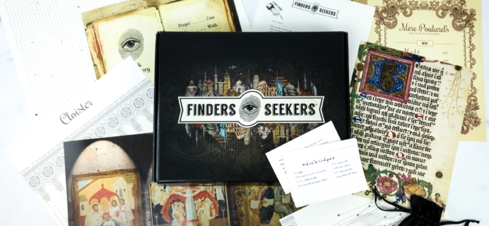 Finders Seekers Subscription Box Review + Coupon – FRANCE