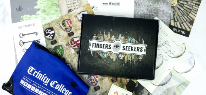 Finders Seekers Subscription Box Review + Coupon – IRELAND