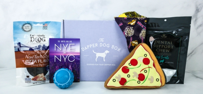 The Dapper Dog Box January 2020 Subscription Box Review + Coupon