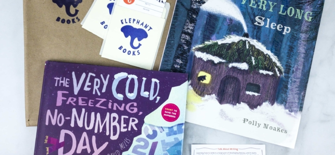 Elephant Books February 2020 Subscription Box Reviews – PICTURE BOOKS