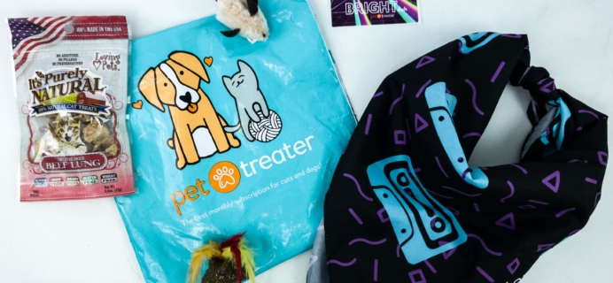 Pet Treater Cat Pack January 2020 Subscription Box Review + Coupon!