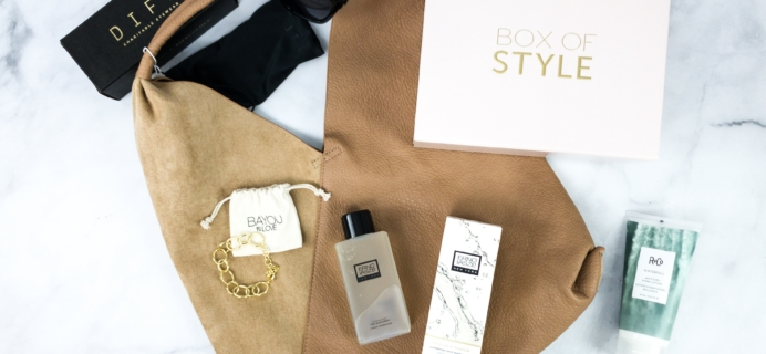 Box of Style by Rachel Zoe Spring 2020 Review + Coupon