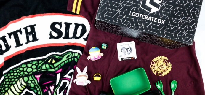 Loot Crate DX September 2019 Subscription Box Review & Coupon