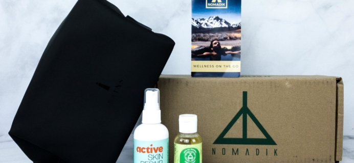 Nomadik January 2020 Subscription Box Review + Coupon