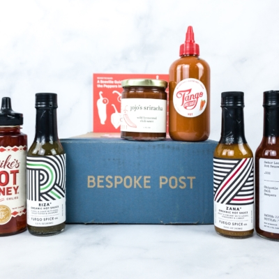 Bespoke Post SCORCH Box Review & Coupon