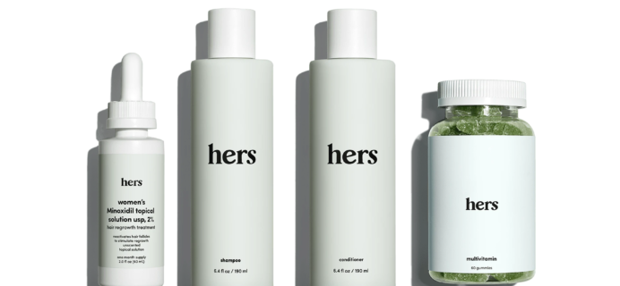 Hers Coupon: Get $10 OFF The Complete Hair Kit!