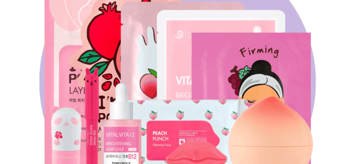 Tony Moly February 2020 Monthly Bundle Available Now + Full Spoilers!
