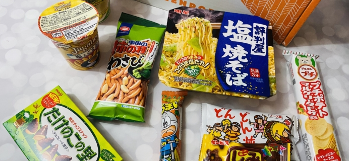 ZenPop Japanese Packs February 2020 Review – Ramen and Sweets Box