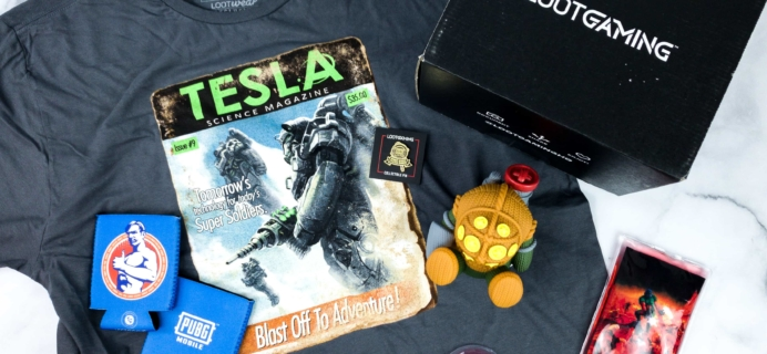 Loot Gaming December 2019 Subscription Box Review & Coupon – WARRIOR