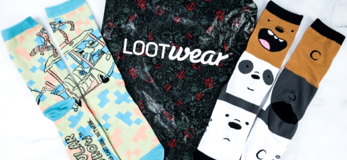 Loot Socks by Loot Crate November 2019 Review & Coupon