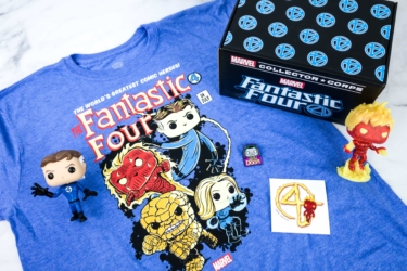 Marvel Collector Corps January 2020 Subscription Box Review – FANTASTIC FOUR!