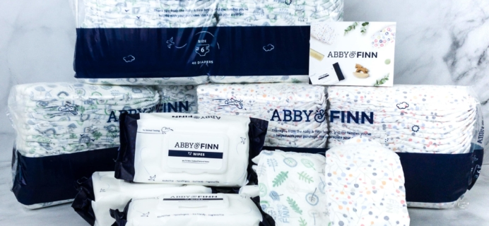 Abby & Finn Diaper Subscription Review + Coupon