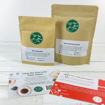 Free Your Tea February 2020 Subscription Box Review + Coupon
