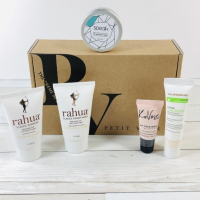 Petit Vour February 2020 Subscription Box Review & Coupon