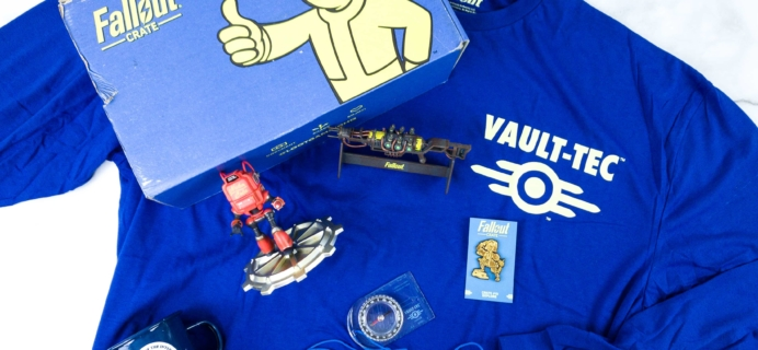 Loot Crate Fallout Crate December 2019 Review + Coupon