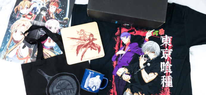 Loot Anime September 2019 Subscription Box Review & Coupons – FEAST