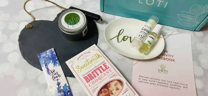 Loti Wellness February 2020 Subscription Box Review!