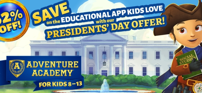 Adventure Academy President's Day Sale: Get 1 Year of Adventure Academy for $45 – 62% Off!