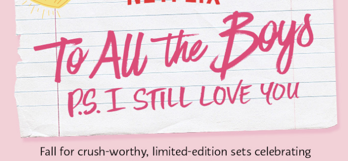 Netflix x Sephora To All the Boys I've Loved Before Limited Edition Goodies Available Now!