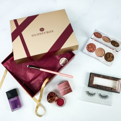 GLOSSYBOX December 2019 Subscription Box Review + Coupon