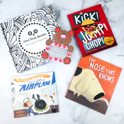 Owl Post Books Imagination Box February 2020 Subscription Box Review