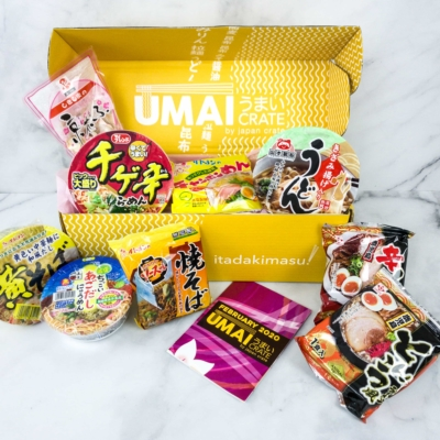 Umai Crate February 2020 Subscription Box Review + Coupon