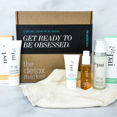 The Detox Box February 2020 Subscription Box Review