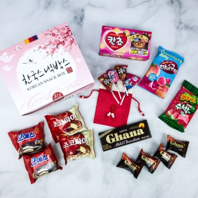 Korean Snack Box February 2020 Subscription Box Review + Coupon
