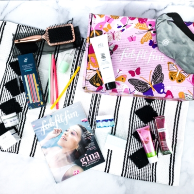 FabFitFun Spring 2020 Box Review + Coupon