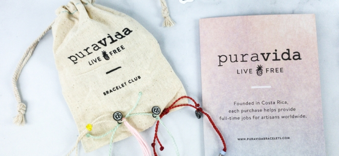Pura Vida Bracelets Club February 2020 Review + Coupon!