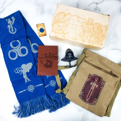 Loot Crate's The Elder Scrolls Crate November 2019 Review + Coupons – GUILD