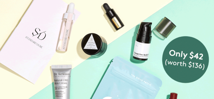 The CBD Kit – New Birchbox x Standard Dose Kit Available Now + Coupons!