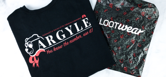 Loot Wearables Subscription by Loot Crate December 2019 Review & Coupon
