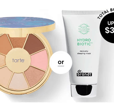 BOXYCHARM Coupon: FREE Dr. Brandt Mask OR Tarte Eyeshadow Palette with February 2020 Box!