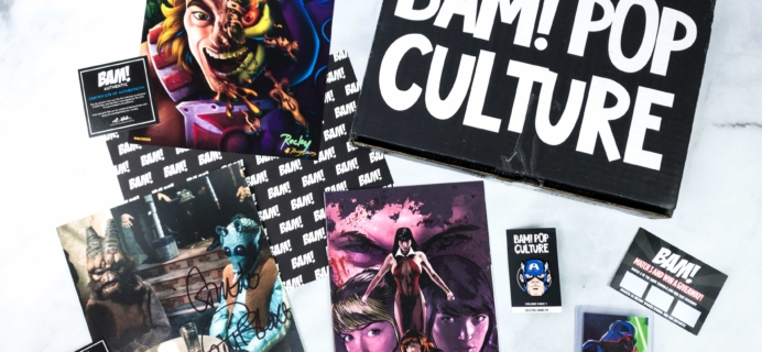 The BAM! POP CULTURE BOX February 2020 Subscription Box Review